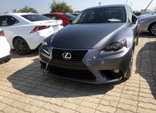 Lexus IS 2014 For sale - Grey color