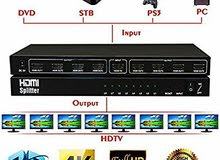 HDMI splitter imported from the USA 1×8