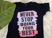 قمصان مع الطباعة