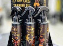 Hairotic tanning oil