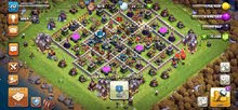 clash of clans tawn 13 full