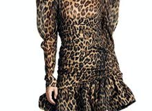 new classy tiger dress