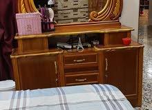 غرفة نوم خشب عراقي نظيفة كلش