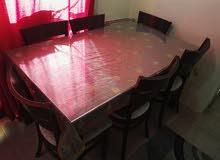 طاولة + 6 كراسي/ Dining table + 6 Chairs