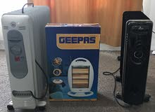 3 room heaters for sale
