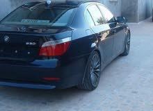 BMW 530 2007 For sale - Blue color