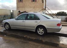 For sale 2001 Silver E 200