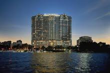 شقة على كورنيش النيل بجوار فندق الفورسيزون