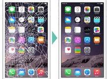 تغيير جميع شاشات الأيفون بأسعار مغرية وبوقت قصير جداً.