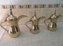 دلات قهوة ذهبي السيف