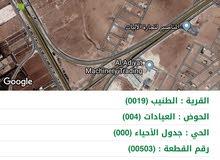 ارض سكن مميزه جدا في الطنيب طريق المطار