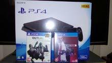 PS4 SLIM الحجم 500 جيجا