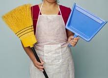 مطلوب عاملة نظافة بشركة بجنزور