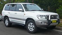 مطلوب سيارة تويوتا لاندكروز - 2002 - 2004 - كاز
