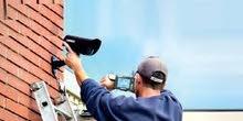 تركيب كاميرات مراقبه افضل الانواع وافضل جودة صوره كفالة سنتين