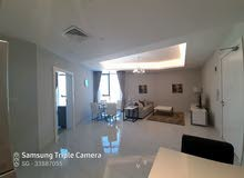Seef-one bedroom fully furnished apartment with city view bhd:450/-