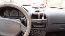 هونداي اكسنت 2003محرك 15 المرغوب كمبيوا عادي استيراد اروبي