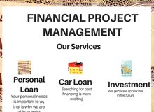 Personal Loans, Car loans, Investment with minimum requirements!