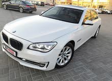 BMW 740 2013 For sale - White color