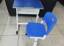 طاولات مدرسية بالوان زاهيه