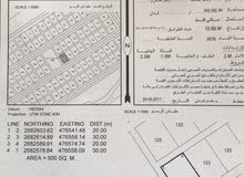 ارضين سكنيات في العوينات مربع 29 للبيع مط 11700 للقطعتين