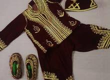 لبس طفل مطرز من عمر سنة