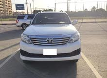 Toyota fortuner 2015 automatic 4 cylinder