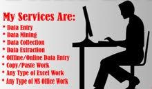 (ابحث عن عمل )data Entry مدخل بيانات لكل برامج ال office