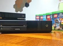 Xbox one + Xbox Kinect + 5 Games