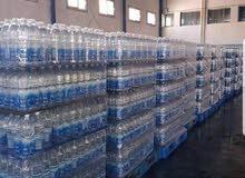 مياه نبع للبيع بسعر الجملة 0.5 لتر و 1.5 لتر لي استفسار الاتصال علا الرقم 0915878828
