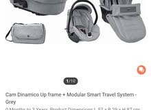 All new cam dinamico full set stroller from new born to 3 years onwards all set