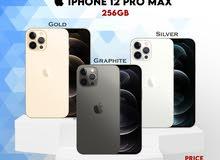 iPhone 12 Pro Max 256Gb at 385 Kd