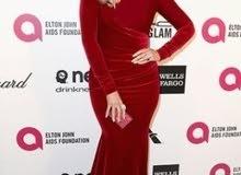 فستان حفلات أحمر مخملي بسعر كزيوني