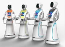 Automatic Humanoid Robotsروبوتات تفاعلية ذاتية الخدمة