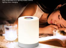 0 Touch lamp portable speaker – White