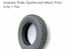 Brand New electric wheelchair tire size 3.00-8 one piece