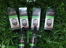 Beard Growth  زيت نمو شعر اللحية و يمكن استخدامة من قبل النساء للشعر  يس