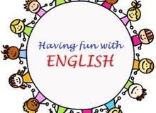 مدرس انجليزي خصوصي مختص بالتأسيس وبالتوجيهي