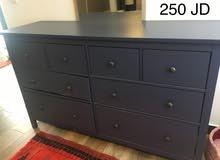 Gorgeous, large blue bureau for sale