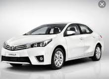 TOYOTA COROLLA 1.6 2016 FOR RENT MONTHLY AND DAILY BASIS WEEKLY