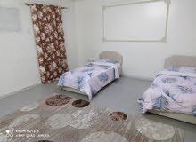 غرفه مفروشه للإيجار اليومي مع دورة مياه