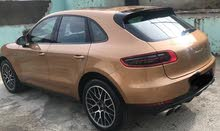 Orange Porsche Macan 2015 for sale