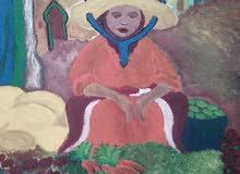 لوحات فنية على القماشو الخشب