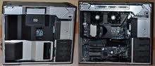 استيراد بالضمان,:HP WORKSTATION Z800: XEON X5650 (ب2 برسيسور ) كاش 24