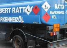 شاحنه نقل الوقود 1000 DAF LF