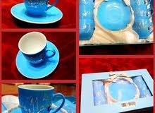 طقم فناجين قهوة عدد 6 جديدة للبيع new set of coffee cups
