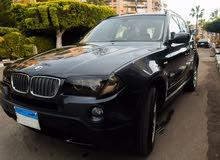 للبيع عربية BMW X3 جديد اللون اسود موديل 2009