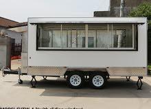 new   food  trailer