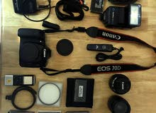 canon D70 like new camera with everything