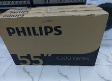 "Philips 55"" smart 4K uhd ultra hd led tv brand new"